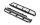 RC4WD VVV-C0962 Krabs-Stahlrohr-Seitenleisten für Vanquish VS4-10 Original Karosserie