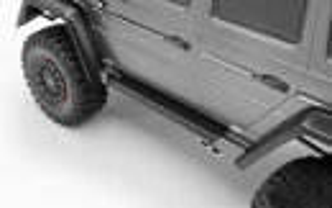 RC4WD VVV-C0975 Tonfa-Seitenleisten für Traxxas Mercedes-Benz G Trucks Schwarz
