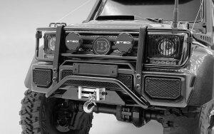 RC4WD VVV-C0993 Command Frontstoßstange mit schwarzem Beleuchtungs- und Lichtsatz