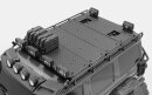 RC4WD VVV-C0998 Command Dachgepäckträger mit Diamantplatte