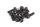 Axial AXIC0023 / AXA0023 Zylinderkopf 2,6x8mm Schwarz (10)