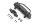RC4WD VVV-C1048 Mikro-Serie Frontstoßstange mit Kunststoff-Winde