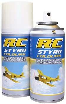 Ghiant RCC15007 Styro Farbe Fluo Gelb 150ml