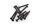 Axial AXIC0439 / AXA0439 Innensechskant Gewindeschneidkopf M3x20mm Blk (10)