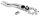 Robitronic R06209 4 in 1 Multi Werkzeug für Spurstangen, Kugelkopf, Schwungrad