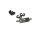 Robitronic R07126G Sprit Sinterfilter und Kühler Grau (inkl. Halter & 2x Clips)