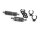 Robitronic R07128G Set Spritfilter und extra Kühler Grau (inkl. Halter & Clips)