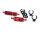 Robitronic R07128R Set Spritfilter und extra Kühler Rot (inkl. Halter & Clips)