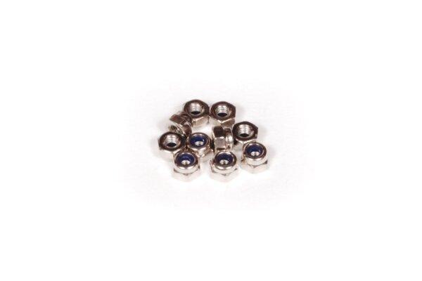 Axial AXIC1041 / AXA1041 Nylon-Sicherungsmutter 2,5 (10)