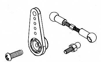 Robitronic R30161 Servo Horn Set