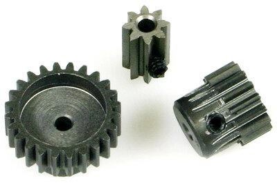 Robitronic RW1808 Motorritzel 48dp 8Z Stahl Bohrung 2mm