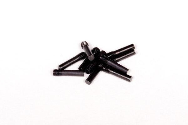 Axial AXIC0176 / AXA176 Schraubenschaft M3x2.5x13mm Schwarz (10)