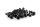 Axial AXIC0129 / AXA466 Innensechskant-Gewindebohrer Flachkopf M3x12mm Schwarz (10)
