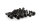 Axial AXIC0130 / AXA468 Innensechskant-Gewindebohrer Flachkopf M3x18mm Schwarz (10)
