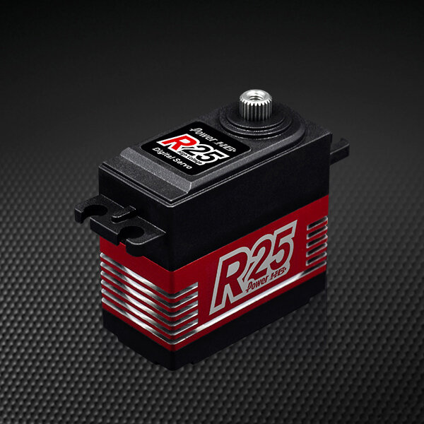 Power HD R25 Servo 25kg HV Titangetriebe Coreless-Motor...