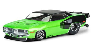 Proline 3550-00 1972 Plymouth Barracuda Karosserie...