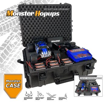 Monster-Case MC-71076-3 Monster Case 1/16er Heavy Duty...