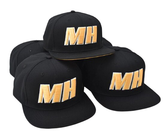 Monster-Hopups MH-CAP-0001 Snapback Cap, One-Size,...