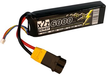 X2Z Power Racing X2Z-2873X LiPo Akku 50C 6000Mah 3S 11,1V...