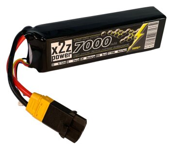 X2Z Power Racing X2Z-2874X LiPo Akku 50C 7000Mah 3S 11,1V...