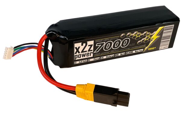 X2Z Power Racing X2Z-2890X LiPo Akku 50C 7000Mah 4S 14,8V...