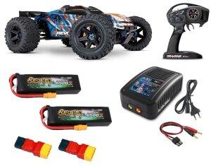 Traxxas 86086-4 Sparset 5 E-Revo V2 Brushless 4WD 2.4GHz...