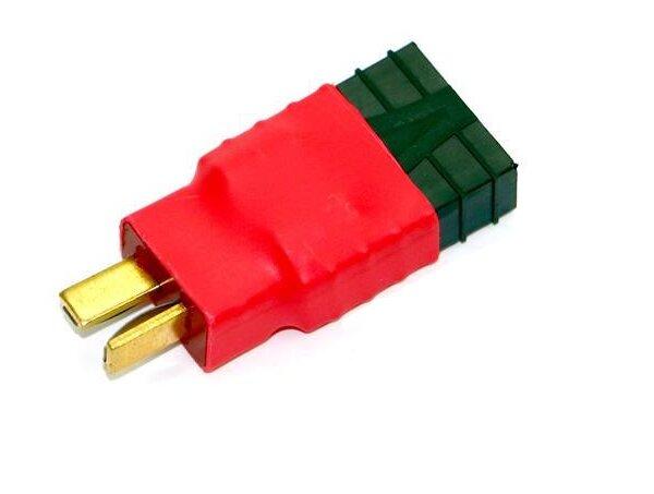 Adapter T-Plug-Deans-SuperPlug Stecker auf Traxxas Buchse