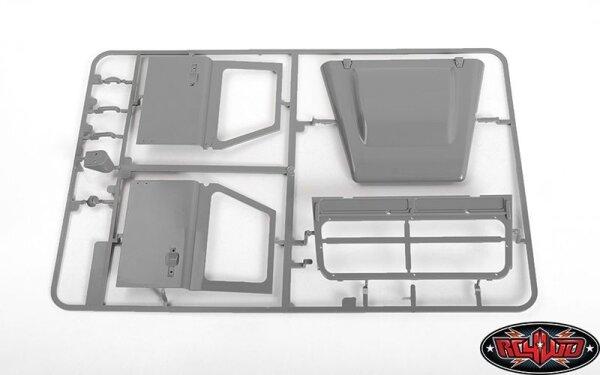RC4WD Z-B0228 RC4WD 2015 Land Rover Defender D90 Türen und Motorhaube/Windschutzscheibe