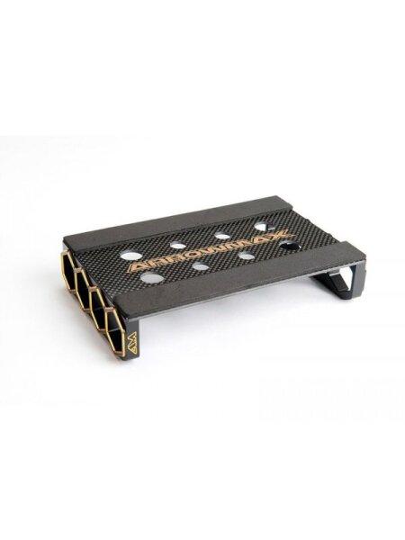 ARROWMAX AM--171031 Set Up Rahmen Für 1/12 & F1 Autos Schwarz Golden