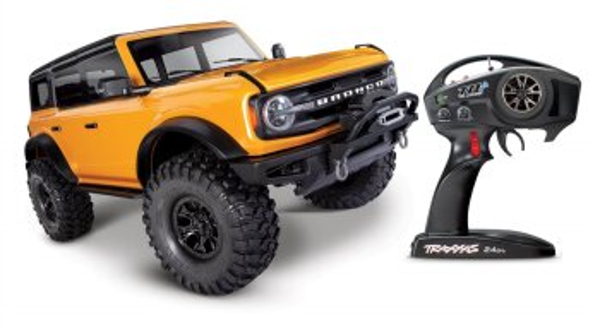 Traxxas 92076-4 TRX-4 2021 Ford Bronco 1:10 4WD RTR Crawler TQi 2.4GHz