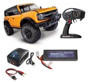 Traxxas 92076-4 TRX-4 2021 Ford Bronco 1:10 4WD RTR...