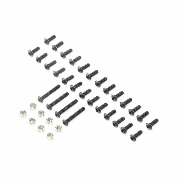 Losi LOS250021 Karosserie-Befestigungsschrauben-Satz: DBXL-E