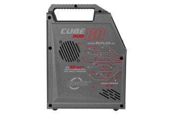 RC Plus RC-CHA-211 Cube 80 Duo Charger AC-DC LiPo-NiMh...