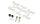 Proline 4005-07 PRO-MT 4x4 Replacement Pivot Ball Hardware und Dämpfer Pistons (neue Ausführung)