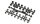 Proline 4005-09 PRO-MT 4x4 Replacement Plastic Hinge Pin Inserts