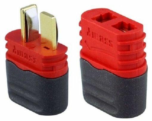 20 Stück T-Plug Goldkontakt Deans T-Stecker Hochstromstecker Für RC Lipo Akku
