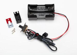 Traxxas TRX3170X Empfänger-RX-Akkuhalter mit Schalter