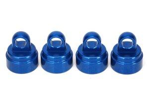 Traxxas TRX3767A Ultra Alu.-Dämpferkappen blau (4)