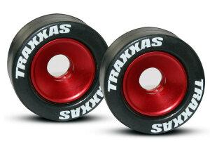 Traxxas TRX5186 Wheelie Bar Aluminium Räder rot...
